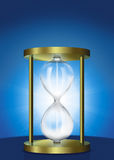 Hour Glass. An illustration of an empty hour glass Stock Image