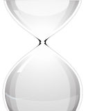 Hour glass. Vector of empty hour glass vector illustration