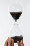 Hour glass sand timer Stock Photo