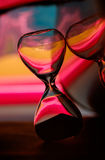 Hour Glass taken in the studio Royalty Free Stock Photography