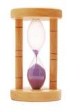 Hourglass, último em segundo fotografia de stock royalty free