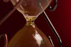 hourglass крупного плана Стоковые Фотографии RF