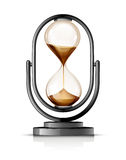 Hourglass. Isolated on the white. Vector illustration Royalty Free Stock Image