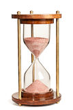 Hourglass. (sand timer) isolated on white background Royalty Free Stock Photos