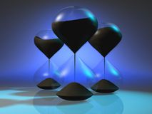 Hourglass 5 Royalty Free Stock Images
