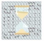 hourglass Royalty-vrije Stock Afbeelding