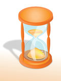 Hourglass. Easy to resize or change color Royalty Free Stock Photos