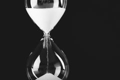hourglass Royalty-vrije Stock Foto