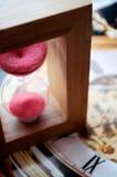 hourglass fotos de stock royalty free