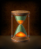 Hourglass vector illustration