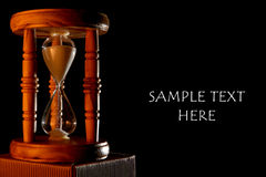 Hourglass Ad Stock Images