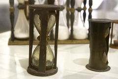 Hourglass antigo Foto de Stock Royalty Free