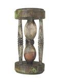 Hourglass antigo isolado. imagem de stock royalty free