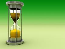 Hourglass background Stock Image