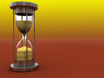 Hourglass background Stock Photography