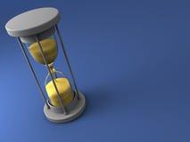Hourglass background Stock Photos