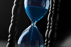 Hourglass background Royalty Free Stock Image
