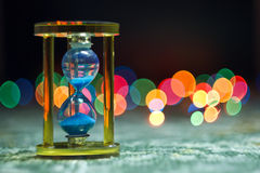 Sand and time Royalty Free Stock Photo