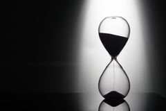 Hourglass on the background Royalty Free Stock Photo
