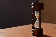 Hourglass background Stock Photos