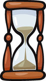 Hourglass clip art cartoon illustration Stock Photos