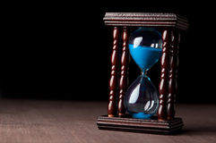 Hourglass clock Stock Photo