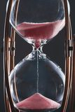 Hourglass Clock Is Ticking Royalty Free Stock Photography