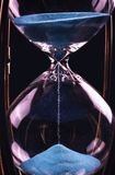 Hourglass Clock Is Ticking Royalty Free Stock Image