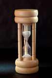 Hourglass close-up Stock Photography