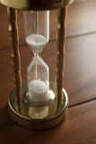 Hourglass close-up Royalty Free Stock Photo