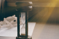 Hourglass. Royalty Free Stock Images