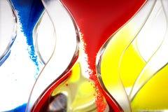 Hourglass closeup shot Royalty Free Stock Image