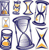 Hourglass Collection Stock Photography