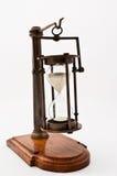 Hourglass com permanecer do tempo foto de stock