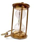 Hourglass de bronze Foto de Stock Royalty Free