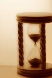 Hourglass de madeira fotografia de stock royalty free