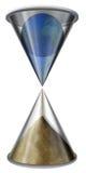 Hourglass do mundo ilustração royalty free