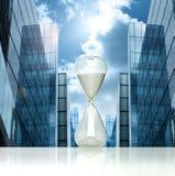 Hourglass do negócio fotografia de stock royalty free