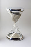 Hourglass glass and steel Royalty Free Stock Photography