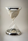 Hourglass glass and steel Royalty Free Stock Photo