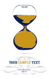 Hourglass icon. In basic  style Royalty Free Stock Images