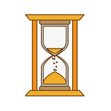 hourglass icon image Royalty Free Stock Images