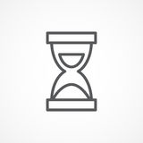 Hourglass icon Royalty Free Stock Photography