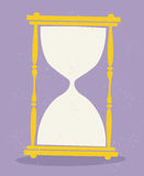 Hourglass vector Royalty Free Stock Images