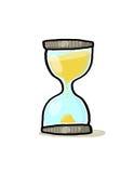 hourglass ilustracja Obrazy Royalty Free