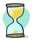 hourglass ilustracja Obraz Royalty Free
