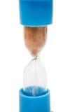 Hourglass isolado imagens de stock