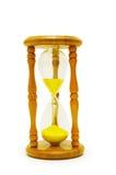 Hourglass isolado no branco imagem de stock royalty free