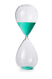 Hourglass isolated Stock Images