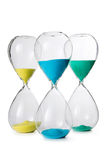 Hourglass isolated Stock Photography
